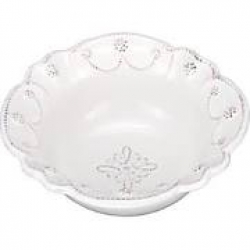 Jardins du Monde Whitewash Cereal/Ice Cream Bowl
