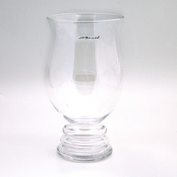 L.V. Harkness Ringed Footed Vase