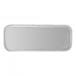 String of Pearls Long Rectangular Tray
