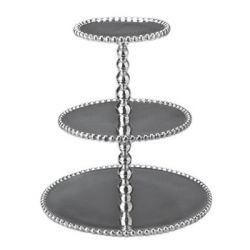 String of Pearls 3-Tiered Cupcake Server