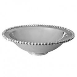 Pearled Serving Bowl