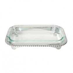 String of Pearls Rectangular/Oblong Casserole
