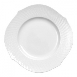 Waves Relief Dinner Plate