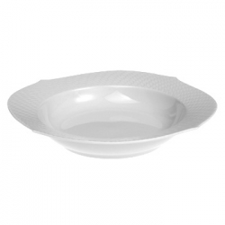 Waves Relief Rim Soup Plate