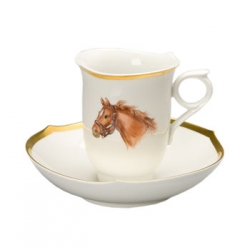 Bluegrass Coffee Cup and Saucer