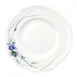 Waves Relief Woodland Flora Bread and Butter Plate
