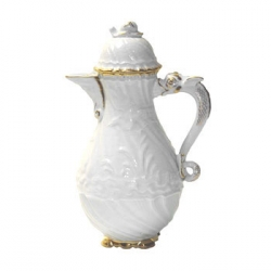 Swan Service Gold Filet 10 Cup Coffee Pot