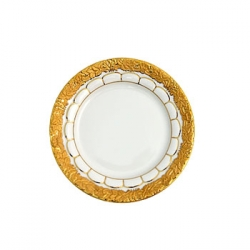 Golden Baroque Dessert/Salad Plate
