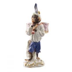Kettle Drum Carrier Figurine