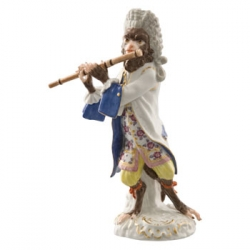 Flutist Player Figurine