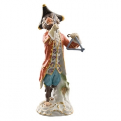 Triangle Player Figurine