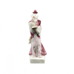 Clown Saxophone Player Figure