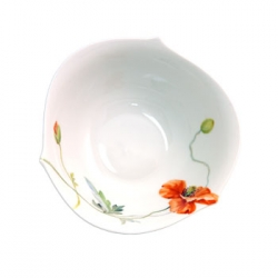 Wild Poppy Cereal and Dessert Bowl