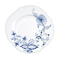 Blue Onion Vine Dinner Plate