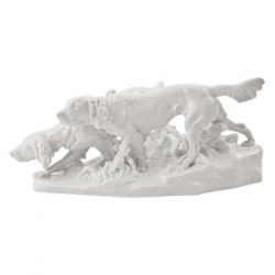Hunting Dogs Figurine