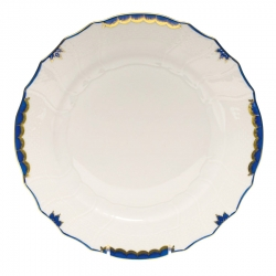 Princess Victoria Blue Bread and Butter Plate
