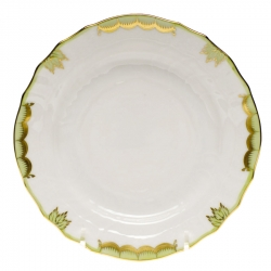 Princess Victoria Green Dinner Plate