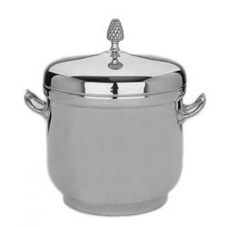 Silverplate Ice Bucket with Pineapple Finial