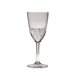 Simon Pearce Corinth White Wine Glass