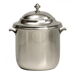 Classic Pewter Ice Bucket with Liner