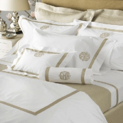 Lowell White Queen Fitted Sheet