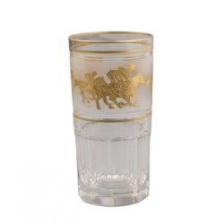 Highball with Gold Horses