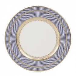 Anthemion Blue Dinner Plate