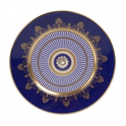 Anthemion Blue Salad Plate