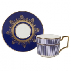 Anthemion Blue Tea Saucer