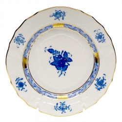 Chinese Bouquet Blue Dinner Plate