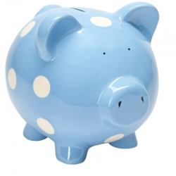 Blueberry Classic Piggy Bank