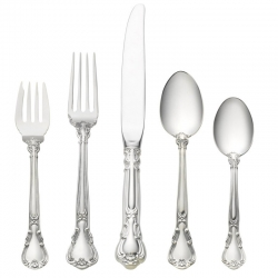 Chantilly Sterling Five Piece Place Setting