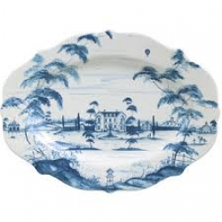 Country Estate Delft Blue Large Serving Platter