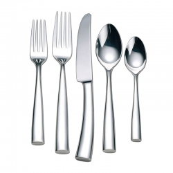 Silhouette Stainless Steel Five Piece Place Setting