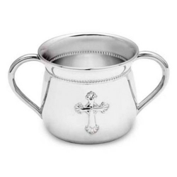 Abbey Silverplate Two Handle Baby Cup