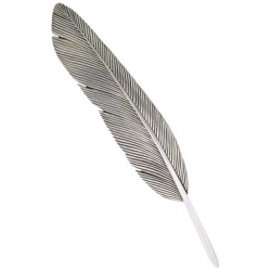 Dove Tail Feather Pin