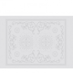Eloise White Placemat