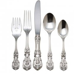 Francis I Sterling Five Piece Place Setting