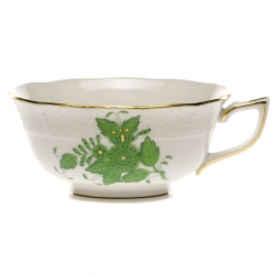 Chinese Bouquet Green Teacup