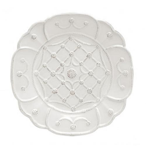 jardin du monde villandry whitewash dessert salad plate lv harkness company. Black Bedroom Furniture Sets. Home Design Ideas