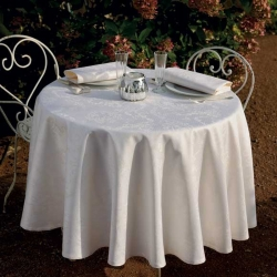 Mille Rubans Ivoire Tablecloth