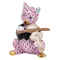Raspberry Cat Playing the Fiddle