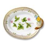 Flora Danica Large Oval Accent Dish w/ Handle
