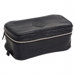 Aviator Black Toiletry Bag