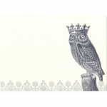 Alexa Pulitzer Royal Owl Note Cards 5\ x 7