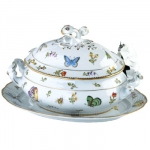 Spring in Budapest Oval Soup Tureen
