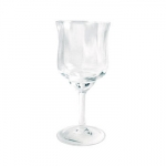 Baccarat Capri Wine Goblet Since 1764, when King Louis XV gave the Bishop de Montmorency-Laval of Metz permission to found a glassworks in the town of Baccarat in Lorraine, the name Baccarat has personified a certain image of French fashion and culture. It started as a simple glassworks producing windowpanes, mirrors, and everyday drinkware, until 1816 when the first crystal oven went into operation. Over 3,000 people worked at the manufactory by this time.