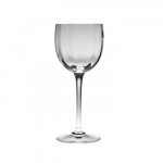 Baccarat Montaigne Optic Tall Wine Goblet Since 1764, when King Louis XV gave the Bishop de Montmorency-Laval of Metz permission to found a glassworks in the town of Baccarat in Lorraine, the name Baccarat has personified a certain image of French fashion and culture. It started as a simple glassworks producing windowpanes, mirrors, and everyday drinkware, until 1816 when the first crystal oven went into operation. Over 3,000 people worked at the manufactory by this time.