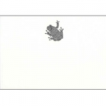 Bell Invito Batik Frog Design Note Cards 5\ x 7