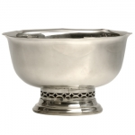 Pewter Gallery Bowl Footed